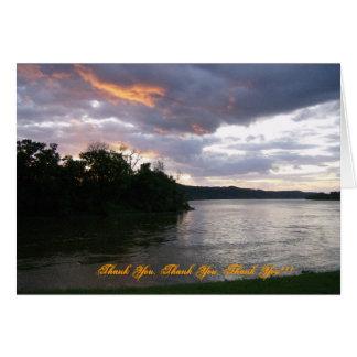 Sunrise Over Ohio Card