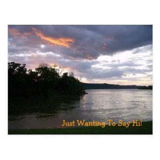 Sunrise Over Ohio Postcard