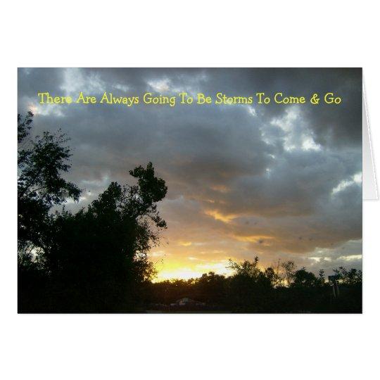 Sunrise Over Point Park Card