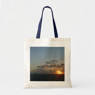 Sunrise over San Juan I Puerto Rico Seascape Tote Bag
