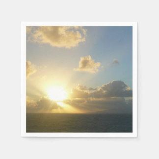 Sunrise over San Juan II Puerto Rico Disposable Napkin