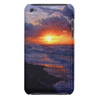 Sunrise Over The Atlantic Ocean iPod Touch Covers