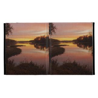Sunrise over the Maumme river iPad Case