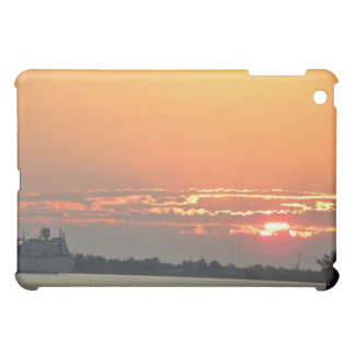 Sunrise over the river iPad mini cases