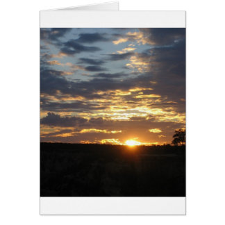 Sunrise over the South Rim Greeting Card