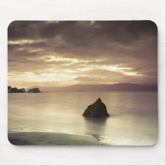 Sunrise over Worser Bay, New Zealand Mouse Pad