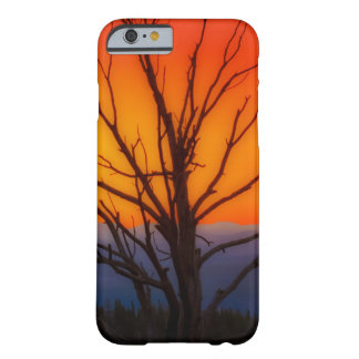 Sunrise Over Yellowstone National Park Design Barely There iPhone 6 Case