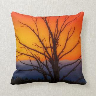 Sunrise Over Yellowstone National Park Design Cushion