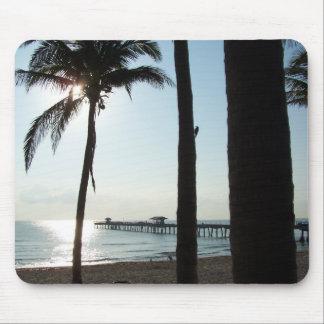 Sunrise/Palm Tree Mousepad