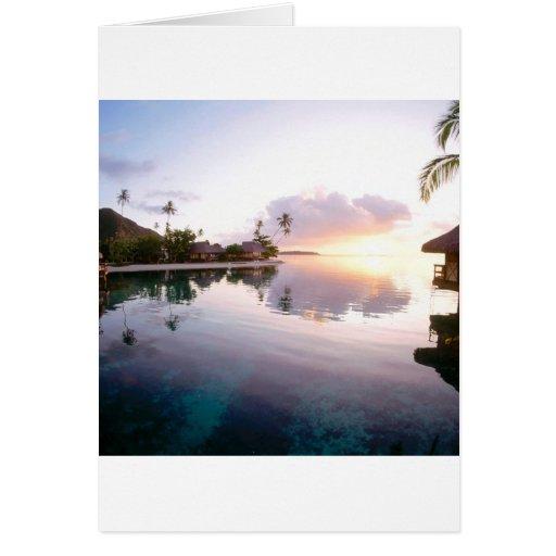 Sunrise Palmilla Coast Cabo San Lucas Mexico Card
