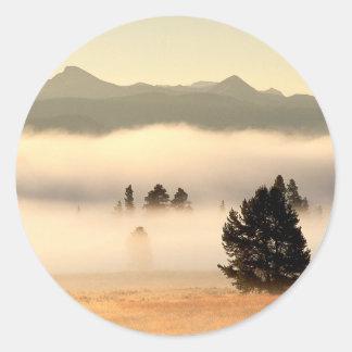 Sunrise Pelican Valley Yellowstone Wyoming Sticker