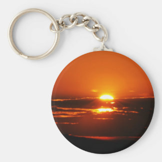 Sunrise photo in South Africa Key Ring