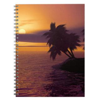 Sunrise Photo notebook