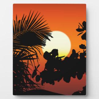Sunrise Plaque