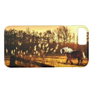 Sunrise pony iPhone 8/7 case
