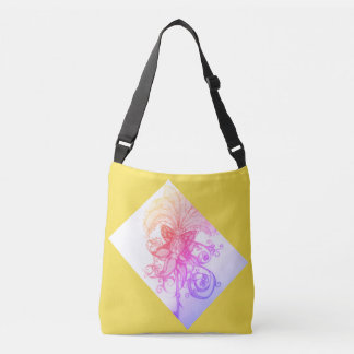 Sunrise Rainbow Ombre' Tropics Tote Messenger Bag