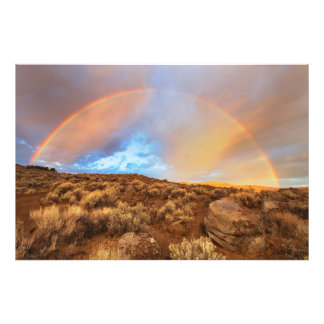 Sunrise Rainbow Photographic Print