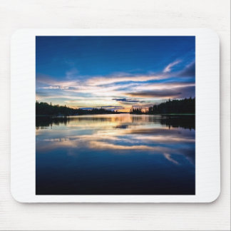 Sunrise River Reflections Mouse Pad
