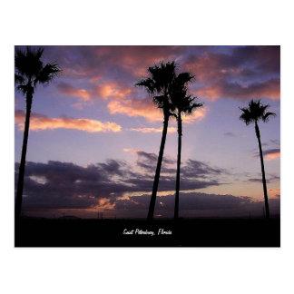 Sunrise, Saint Petersburg, Florida postcard