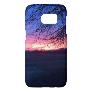 Sunrise Samsung Galaxy phone cover
