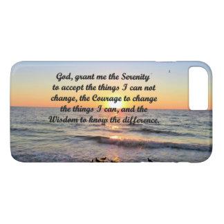 SUNRISE SERENITY PRAYER IPHONE CASE