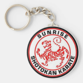 Sunrise Shotokan Karate Keyrings