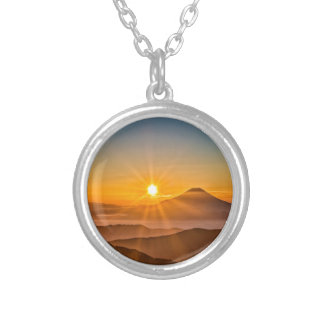 Sunrise Silver Plated Necklace