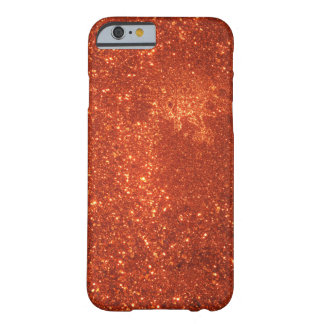 Sunrise sparkle, natural glitter frost barely there iPhone 6 case