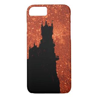 Sunrise sparkle, natural glitter frost Castle iPhone 8/7 Case