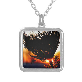 Sunrise Special Silver Plated Necklace