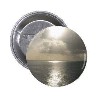 Sunrise Sunset 6 Cm Round Badge