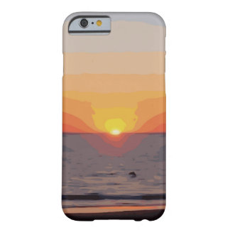SUNRISE-SUNSET BARELY THERE iPhone 6 CASE