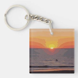 SUNRISE-SUNSET KEY RING