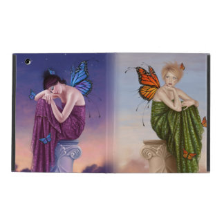 Sunrise & Sunset Monarch Butterfly Fairies Covers For iPad