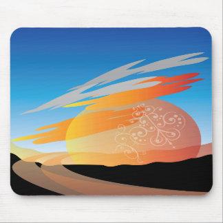sunrise sunset mousepad