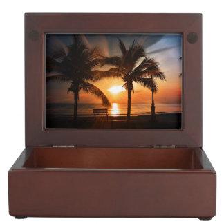 Sunrise Sunset Sun Keepsake Box