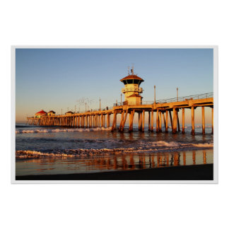 Sunrise Surf City Poster
