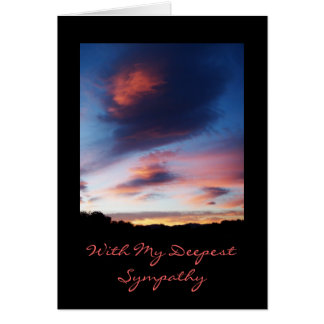 Sunrise Sympathy Card