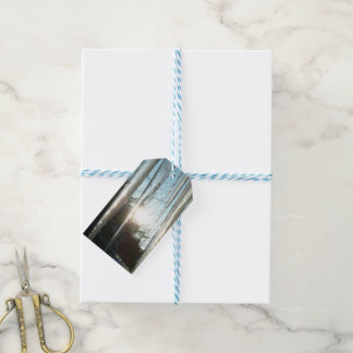Sunrise Through Icicles Gift Tags