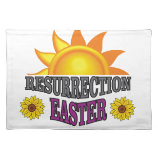 sunrise to easter placemat