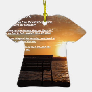 sunrise with bible verse ornaments