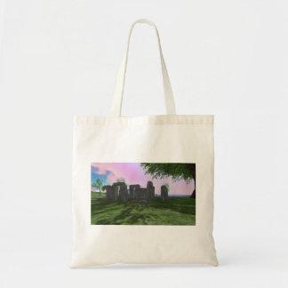 Sunrise Worship Stonehenge Budget Tote Bag