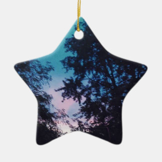 Sunrising Ceramic Ornament