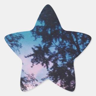Sunrising Star Sticker