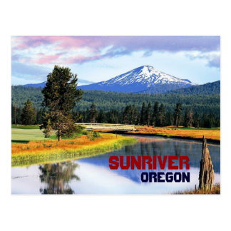Sunriver Oregon Postcard
