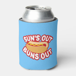 Suns Out Buns Out Can Cooler