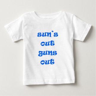 Sun's Out Guns Out! Baby T-Shirt