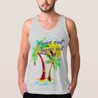 suns out guns out beach summer fun shirt