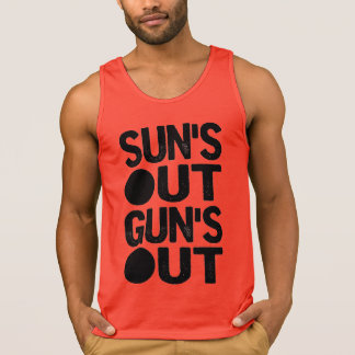Suns Out Guns Out Singlet