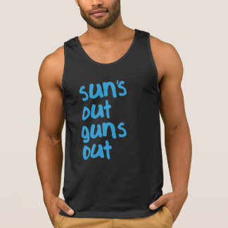 Sun's Out Guns Out Singlet